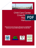 Crisis Disaster Center Handbook Mc Final 10-19-10