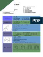 Formula for Press Tool Design