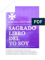 Sagrado Libro Del Yo Soy, Maestro Saint Germain