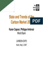 Ets World Bank Carbon Market 2007