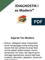 Tes Modern