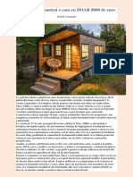 Cum Iti Poti Construi o Casa Cu DOAR 8000 de Euro