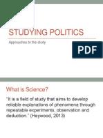Studying PolitStudying Politicsics