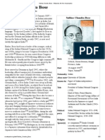 Subhas Chandra Bose - Wikipedia, The Free Encyclopedia