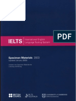Official Ielts Practice Materials Book