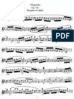 Godard - Allegretto Op.116 - Flute Part