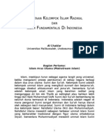 7904375 Pemetaan Kelompok Islam Radikal Di Indonesia