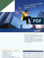 List Perintah SMS Banking Mandiri