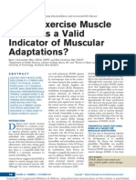 Is Postexercise Muscle Soreness a Valid Indicator.2