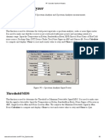 RF Calculator Spectrum Analysis