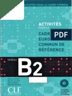 Activités pour le Cadre Commun - Niveau B2 - book