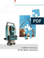 User Manual for RTS-820 Series