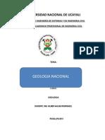 Geologia Nacional