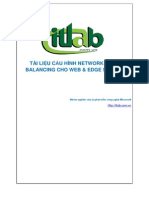 TÀI LIỆU CẤU HÌNH NETWORK LOAD BALANCING CHO WEB
