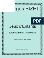 Georges Bizet Jeux dEnfants Childrens Games Little3