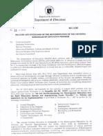 DepED Order No.21 s.2012