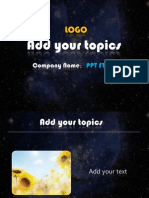 Report Ppt Template 001