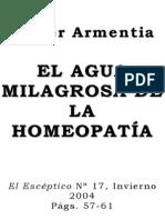 Armentia - El Agua Milagrosa de La Homeopatia