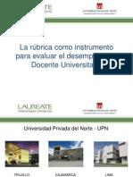 La Rúbrica como instrumento para evaluar el desempeño del Docente Universitario