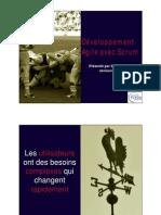 Développement Agile avec Scrum