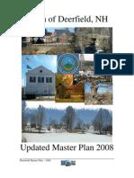 Deerfield, NH 2008 Updated Master Plan