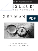 Pimsleur German Reading Booklet Epub