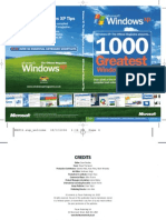 1000 Greatest Windows Hidden Secret & Tips eBook Team MJY