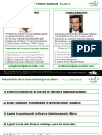 Le Potentiel de Développement de la Finance Islamique au Maroc - par Youssef Baghdadi et Khalil Labniouri - iCompetences IFConference