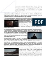 Analysis of Inception