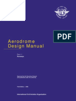 Airport Planning Manual - Icao Part 1 Aerodrome Design Manual (Runways)