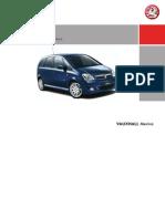 Meriva  (Opel /Vauxhall) Owner`s Manual (2007)