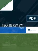 MassDevelopment Annual Report 2001