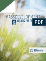 MassDevelopment Annual Report 2010