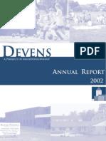 Devens Annual Report 2002