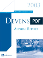 Devens Annual Report 2003