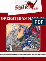 Adeptus Evangelion 2.5 - Operations Manual