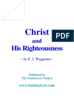 Waggoner Christ and His Righteousness