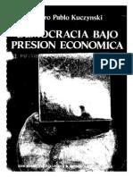 PPK Democracia Bajo Presion Economica