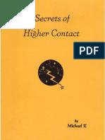 Secrets of Higher Contact - Michael X Barton(1959)