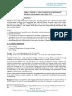 Moringa Oleifera Training Guidelines