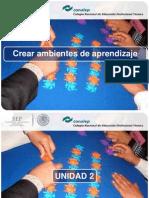 b.DIAPO CREAR AMBIENTES APRENDIZAJE U II.pdf