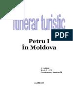 Itinerar Turistic in Moldova
