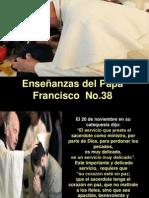 Enseñanzas del Papa Francisco - Nº 38