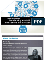 Transforming Your B2B Social Media Efforts Into a Social CRM Strategy