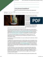 ANGUSTIA JOVENES BRASILEÑOS _ EL PAÍS