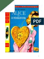 Caroline Quine Alice Roy 11 IB Alice et le médaillon d'or 1934