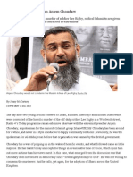We've Heard Enough From Anjem Choudary
