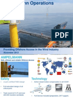 Ampelmann Offshore Personnel Transfer Operations