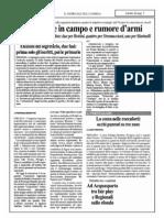 PD, Truppe in Campo e Rumor d'Armi