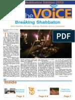 Shabbaton Issue